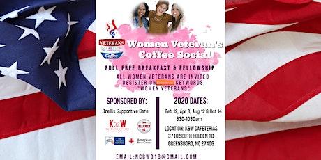 NC Women Veteran's Coffee Social tickets