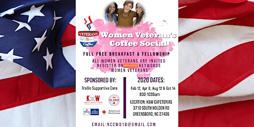 NC Women Veteran's Coffee Social