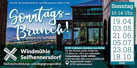 Sonntags-Brunch auf dem Windmühlberg Tickets