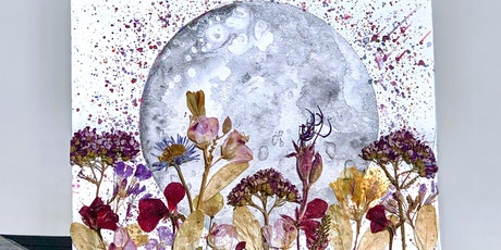Full Moon Painting and Flowers Workshop tickets