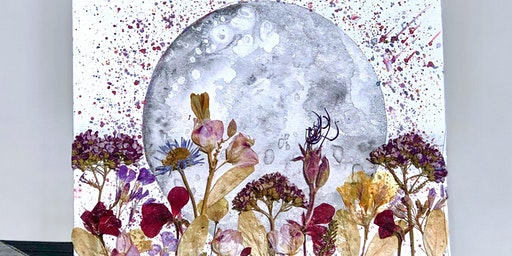 Full Moon Painting and Flowers Workshop