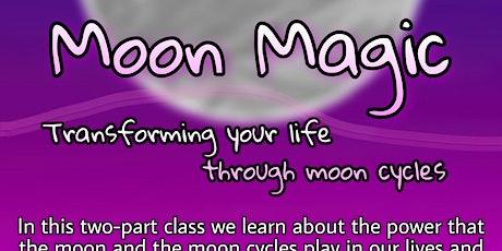 Moon Magic: Transforming your life through Moon Cycles tickets