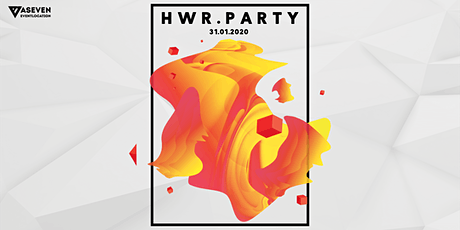 HWR.Party - 31.01.2020 tickets