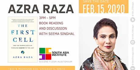 Azra Raza : Book Reading and Discussion with Seema Singhal tickets