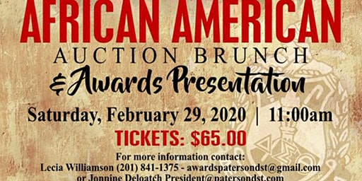 African American Auction Brunch & Awards Presentation