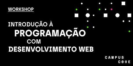 Introdução à programação com desenvolvimento Web bilhetes