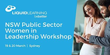 NSW Public Sector Women in Leadership Workshop tickets