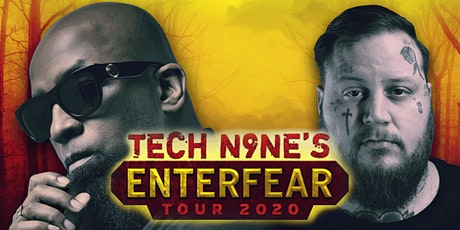 ***NEW DATE!*** Tech N9ne Enterfear Tour 2020 tickets