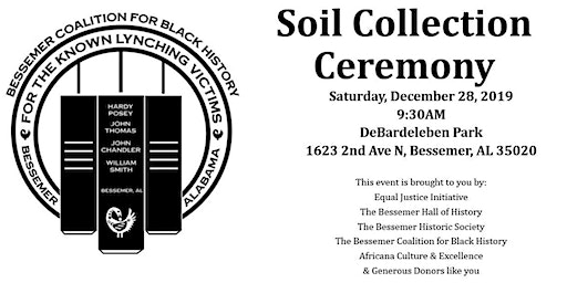 Soil Collection Ceremony for Mr. John Thomas and Mr. William Smith