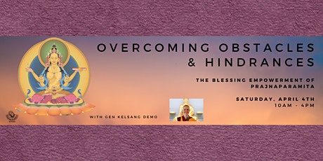 Overcoming Obstacles and Hindrances tickets