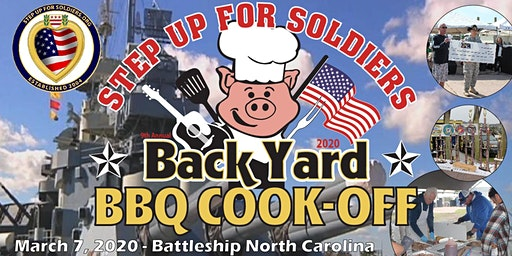 2020 Step Up For Soldiers Back Yard BBQ Cook-Off