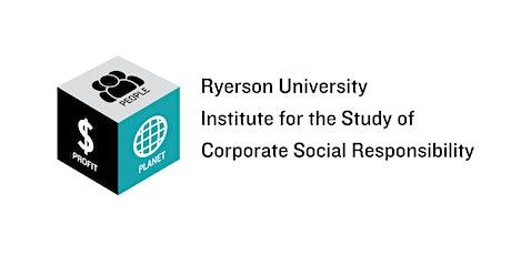 Ryerson CSR Institute: Glenn Nolan-Jan 17-2020, 12-2pm tickets