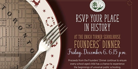A Vintage Christmas at the Schoolhouse - Annual Founder's Dinner 2019 tickets