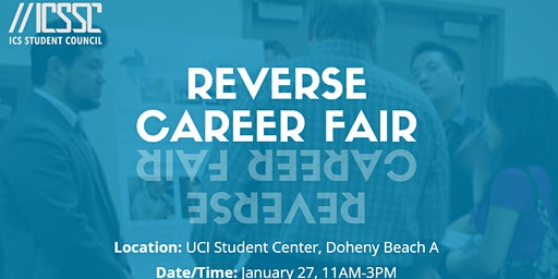 ICS Student Council's Reverse Career Fair