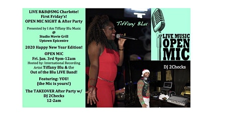LIVE R&B@SMG/OPEN MIC NIGHT w/ Tiffany Blu tickets