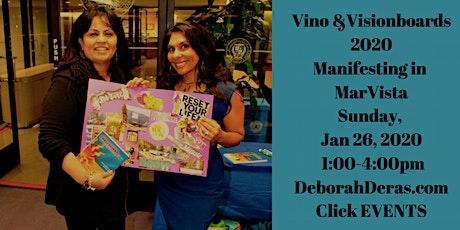 Vino and Visionboard Playshop ~ Mar Vista tickets