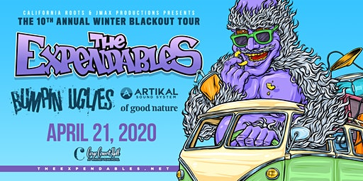 The Expendables - Winter Blackout Tour at Cargo Concert Hall