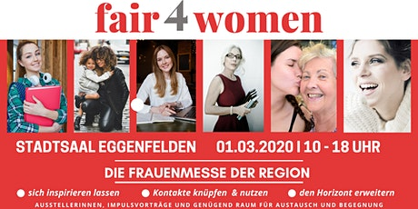 fair4women - Die Frauenmesse in der Region Tickets