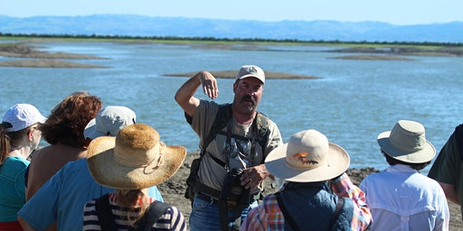 Waterfowl Presentation and Walk at the Baylands with Dave Barry 2-29-20