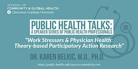 Public Health Talk with Dr. Karen Belkic tickets
