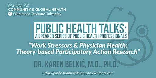 Public Health Talk with Dr. Karen Belkic