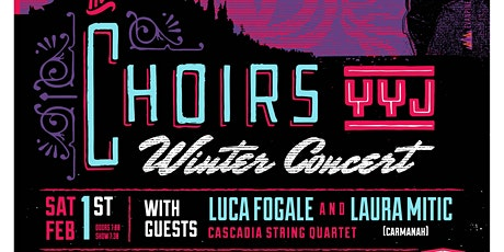 The Choirs YYJ Winter Concert tickets