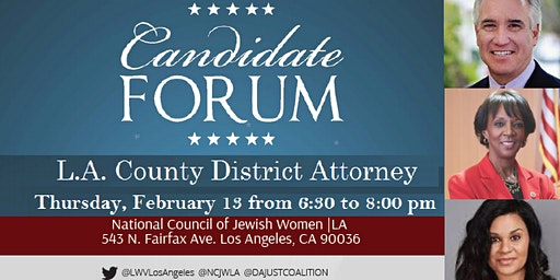 L.A. County District Attorney Candidate Forum