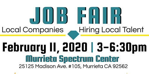 Job Fair, Local Companies Hiring Local Talent