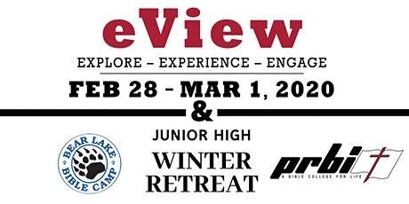 eView: College Takeover & BLBC Winter Retreat 2020 tickets