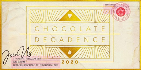 Chocolate Decadence 2020 tickets