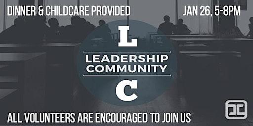 January 2020 Leadership Community Gathering
