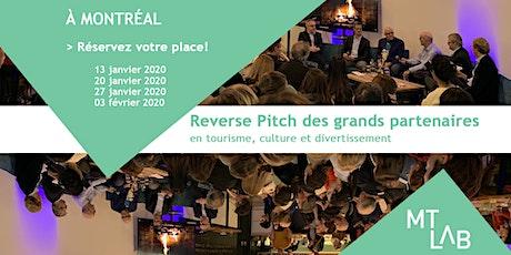 4 Reverse Pitchs du MT Lab : opportunités d'innovation pour les startups! tickets