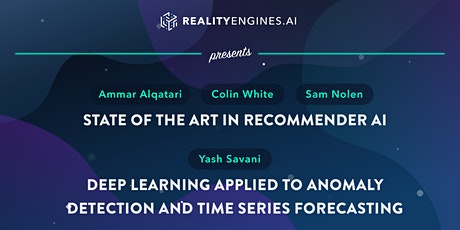 An AI Paper and A Drink— Recommender AI and Deep Learning RealityEngines.AI tickets