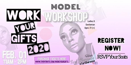 Work Your Gifts 2020 Model Workshop  tickets