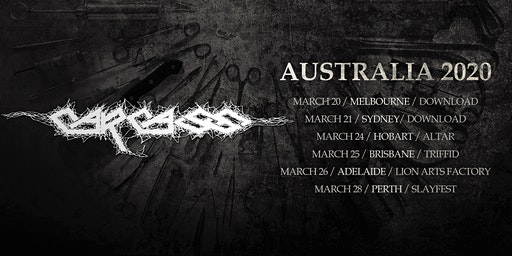 CARCASS - Brisbane