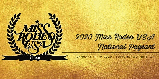 Miss Rodeo USA Pageant 2020