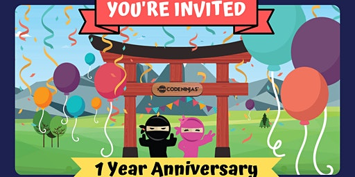 Code Ninjas 1 Year Anniversary