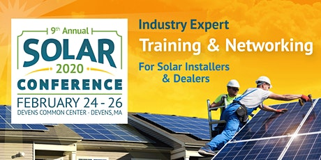 2020 altE Solar Installer Conference tickets