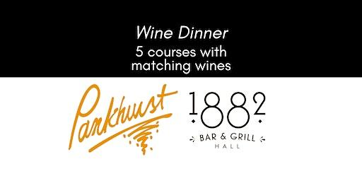 Pankhurst Wine Dinner