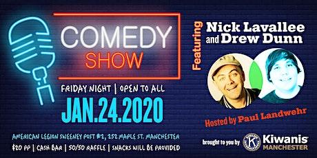 Kiwanis Comedy Night tickets