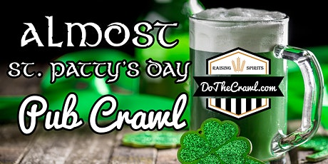 Modesto's Almost St. Patty's Day Pub Crawl tickets