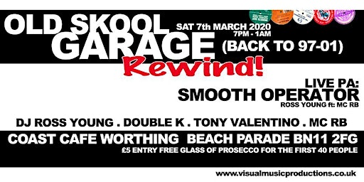 Old Skool Garage Rewind