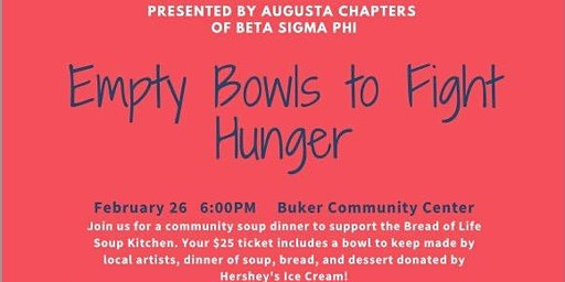 Empty Bowls to Fight Hunger