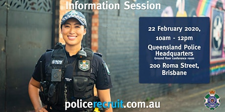 Queensland Police Service - Recruiting Information Session tickets