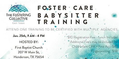 Babysitter Training tickets