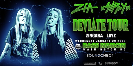Bass Nation DC feat. ZIA & Sippy tickets