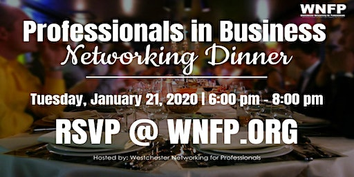 Networking Dinner: 3 Secret to Achieve Your Goals in 2020