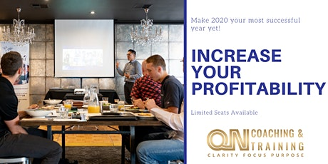Increase Profitability through Effective Leadership and Staff Management tickets
