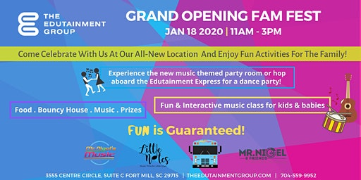 "The Edutainment Group ""Grand Opening"""