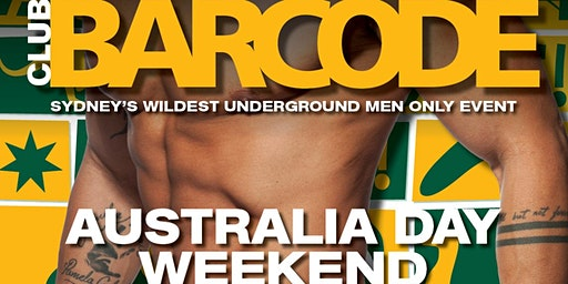 BARCODE AUSTRALIA DAY  WEEKEND
